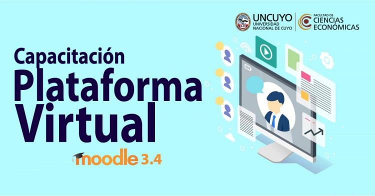Capacitación en Plataforma Virtual Moodle 3.4