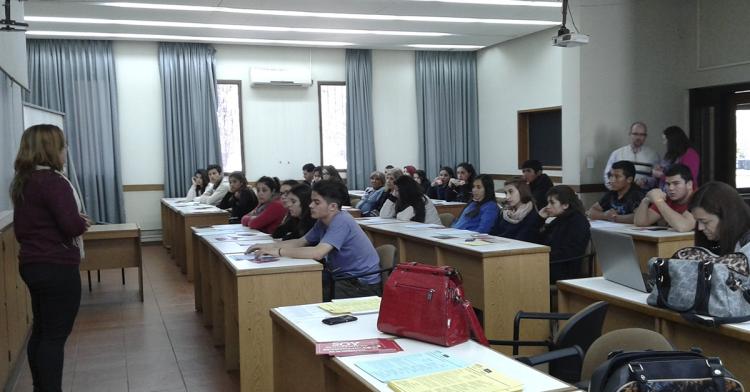 Estudiantes de una Escuela Secundaria de Tunuyán visitaron la Facultad