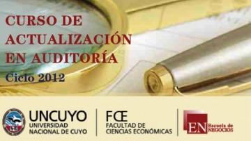 Actualización en Auditoría: inicio Ciclo 2012