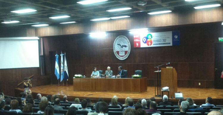 Distinción Honoris Causa a los profesores Amaro Yardin y Enrique Nicolás Cartier