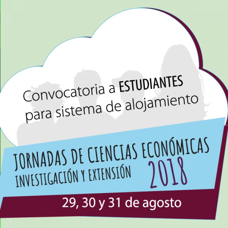 RED DE ALOJAMIENTO DURANTE EL TRANSCURSO DE LAS JORNADAS DE CIENCIAS ECONÓMICAS 2018