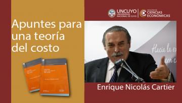 Presentación del libro \Apuntes para una teoría del costo\