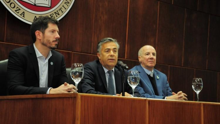 Recibimos en el Salón de Grado a la Apertura del Tercer Foro Nacional de Gobierno Abierto y Tecnología Cívica en la UNCUYO