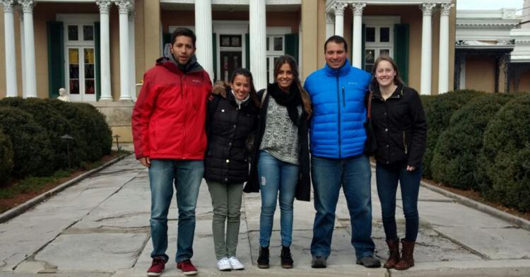 Estudiantes de la UNCUYO se encuentran visitando la Universidad de Belmont, Nashville en el marco del proyecto de intercambio de ambas universidades.