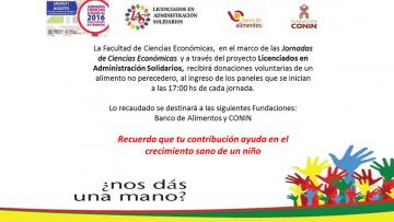 Colecta Licenciados en Administración Solidarios