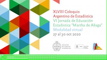 XLVIII Coloquio Argentino de Estadística y la VI Jornada de Educación Estadistica