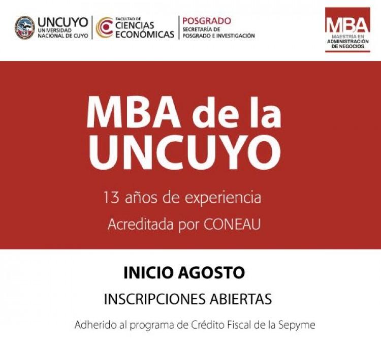 Maestría en Administración de Negocios | MBA