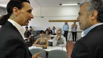 """Alfredo Cornejo """"Cara a Cara con estudiantes del Doctorado de Ciencias Económicas"""""""