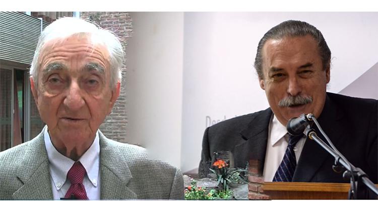 Distinción Honoris Causa a los profesores Amaro Yardin y Enrique Nicolás Cartier.