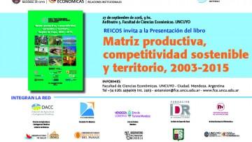 imagen que ilustra noticia Matriz productiva, competitividad sostenible y territorio- Región Cuyo 2003-2015