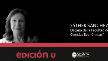 imagen que ilustra noticia El cometido de la logística, editorial para EDICION U realizada por la Sra. Decana de nuestra Facultad Esther Sánchez.