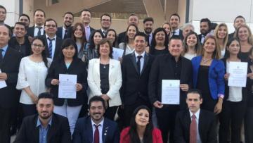 Acto de Juramento de los profesionales egresados | Lic. en Gestión de Negocios Regionales