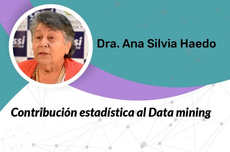 Conferencia Contribución Estadística al Data Mining