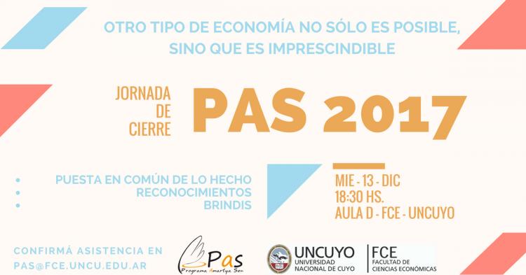 Jornada de Cierre: PAS 2017