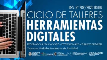 Ciclo de Talleres de Herramientas Digitales
