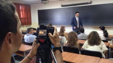 Filmaron programa para CNN en Español
