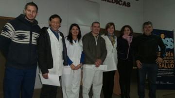 Primer Taller de Ortesis y Protesis. Realizada el 8 de junio en el Hosp. Lencinas