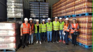 Visita a las instalaciones de Transporte Andreu | Licenciatura en Logística