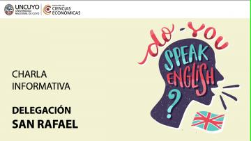 Programa Inglés UNCUYO 2019 -  Delegación San Rafael