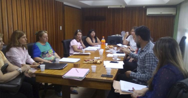 Jornada de trabajo con docentes de la Escuela de Comercio Martín Zapata