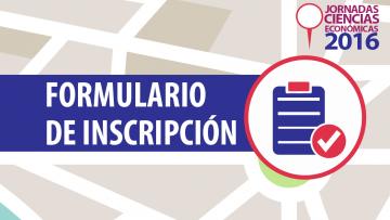 Inscripción Jornadas de Ciencias Económicas 2016