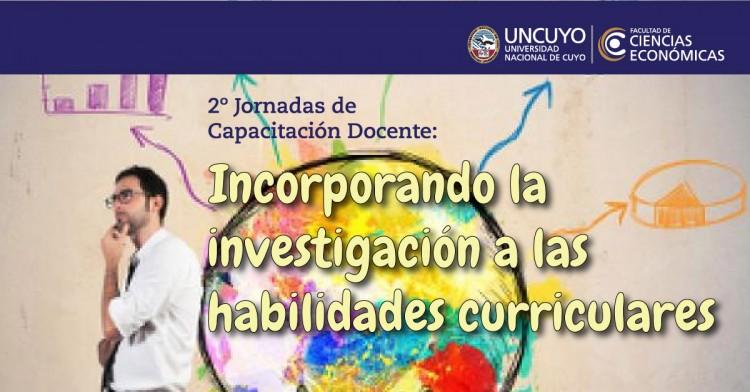 2° Edición Jornadas de Capacitación Docente: Incorporando la investigación a las habilidades curriculares. Fecha de inicio 18 de marzo