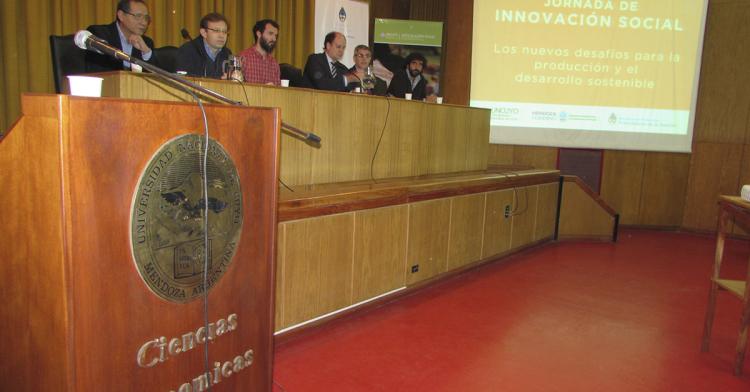 Se realizó la  Jornada de Innovación Social: Los nuevos desafíos para la producción y el desarrollo sostenible