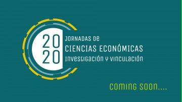 Agendá: 7|8|9 de Septiembre Jornadas de Cs Económicas 2020