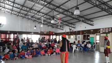 Licenciados en Administración Solidarios festejaron el día del niño