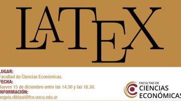CURSO-TALLER LATEX, R, interfaz LATEX-R