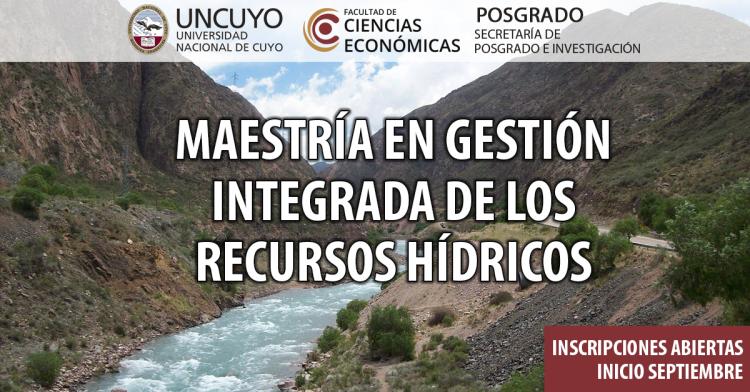 Maestría en Gestión Integrada de los Recursos Hídricos