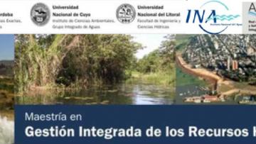 Presentación de la Maestría en Gestión Integrada de los Recursos Hídricos