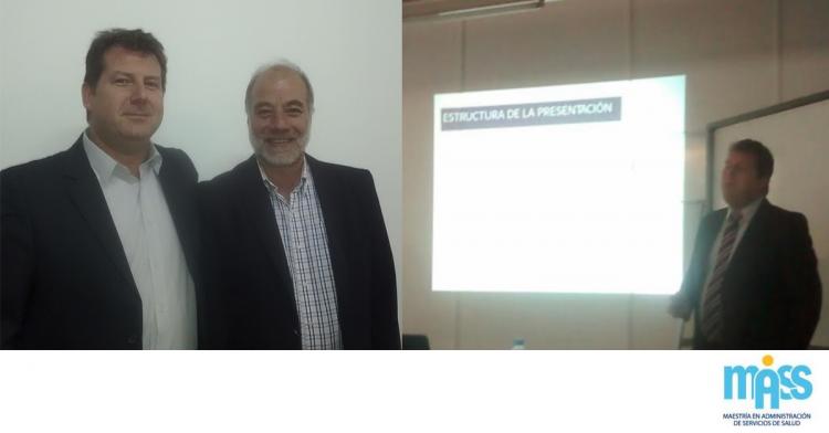 Mariano Fischer realizó su defensa de tesis de la MASS