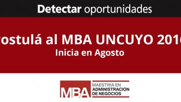 Inscripciones abiertas para las cohortes 2016/2018 del MBA