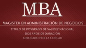 Están abiertas las inscripciones para el MBA