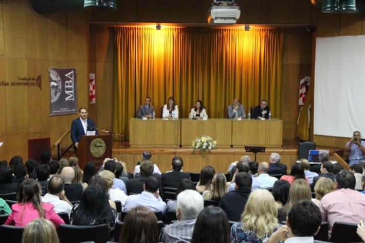 Se realizó el Acto de Colación del MBA