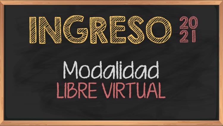 Modalidad Libre Virtual