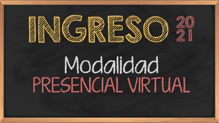 Modalidad Presencial Virtual