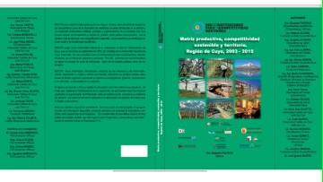 EL próximo Jueves, 6 de octubre, estará a la venta el Libro Matriz productiva, competitividad sostenible y territorio. Región de Cuyo 2003 - 2015. REICOS