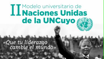 Segundo Modelo Universitario de Naciones Unidas de la UNCUYO