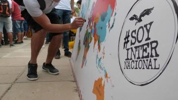 Visitas a las Facultades por el Programa de Intercambio Internacional