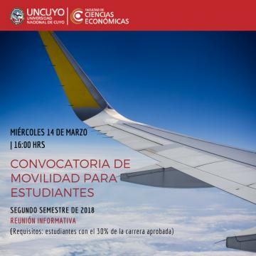 Charlas Informativas del Programa de Intercambio Internacional