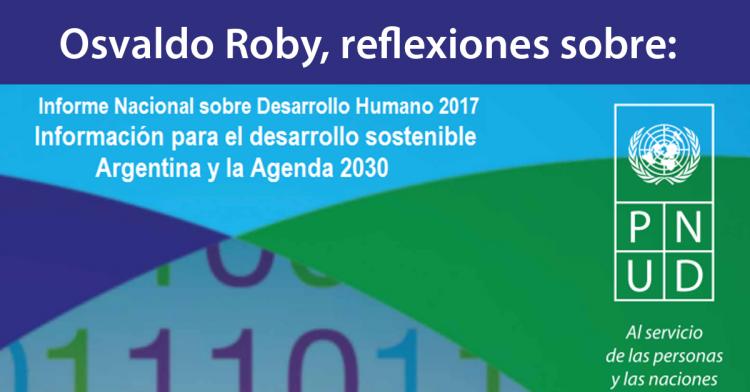Reflexiones sobre Informe para el Desarrollo Sostenible: Argentina y la Agenda 2030