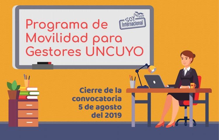 Convocatoria Movilidad de Gestores UNCUYO 2019-2020
