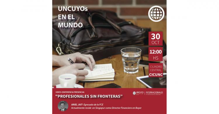 Conferencia: Profesionales con nuevos horizontes