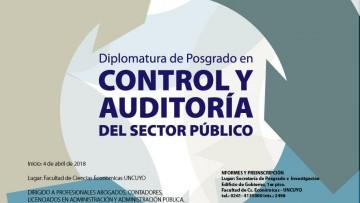 Diplomatura en Control y Auditoría del Sector Público 2018