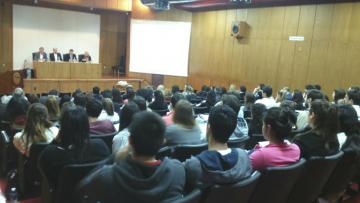 """Exposición """"Conflictos y Consensos de la Política Tributaria en América Latina""""."""