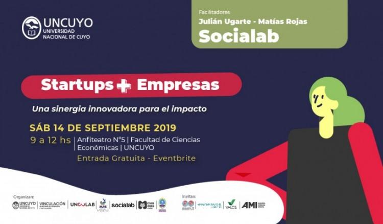 """Conferencia sobre """"Startups+ Empresas: Una sinergia innovadora para el impacto"""""""