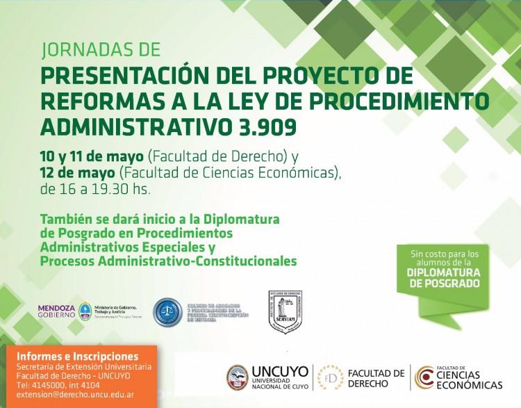 Analizarán la Reforma a la Ley de Procedimiento Administrativo 3.909