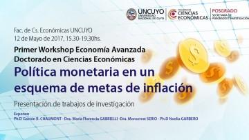 Primer Workshop Economía Avanzada Doctorado en Ciencias Económicas